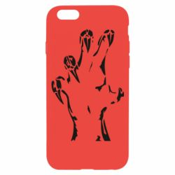 Чехол для iPhone 6/6S Hand with claws