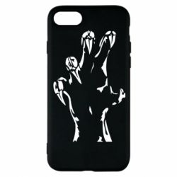 Чехол для iPhone 8 Hand with claws