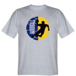 Мужская футболка Handball Logo - FatLine
