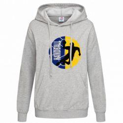 Женская толстовка Handball Logo - FatLine
