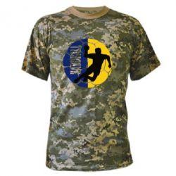 Купить Гандбол, Камуфляжная футболка Handball Logo, FatLine