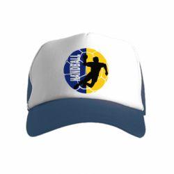 Детская кепка-тракер Handball Logo