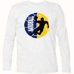 Футболка с длинным рукавом Handball Logo - FatLine
