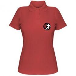 Женская футболка поло Handball Logo - FatLine