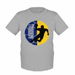 Детская футболка Handball Logo - FatLine