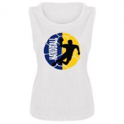 Женская майка Handball Logo - FatLine