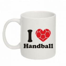Кружка 320ml Handball one love