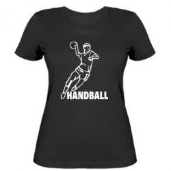 Женская футболка Handball - FatLine