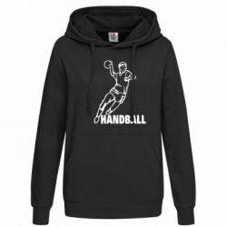 Женская толстовка Handball - FatLine