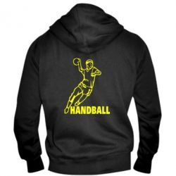 Мужская толстовка на молнии Handball - FatLine
