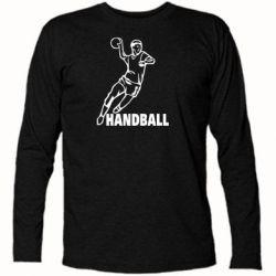 Футболка с длинным рукавом Handball - FatLine