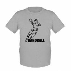 Детская футболка Handball - FatLine