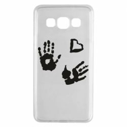 Чехол для Samsung A3 2015 Hands and heart