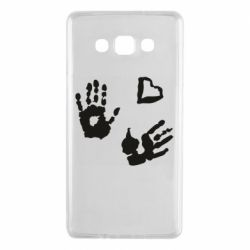 Чехол для Samsung A7 2015 Hands and heart