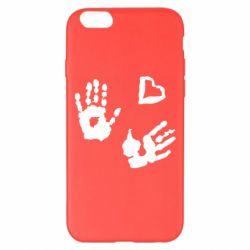 Чехол для iPhone 6 Plus/6S Plus Hands and heart