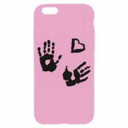 Чехол для iPhone 6/6S Hands and heart