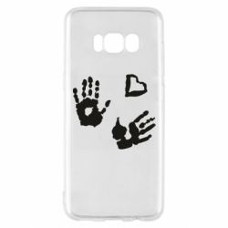 Чехол для Samsung S8 Hands and heart