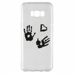Чехол для Samsung S8+ Hands and heart