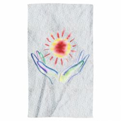 Рушник Hands and sun