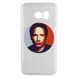 Чехол для Samsung S6 EDGE Hank Moody Art - FatLine
