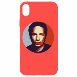 Чехол для iPhone XR Hank Moody Art - FatLine