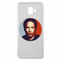 Чехол для Samsung J6 Plus 2018 Hank Moody Art - FatLine