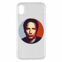 Чехол для iPhone X Hank Moody Art - FatLine