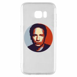 Чехол для Samsung S7 EDGE Hank Moody Art - FatLine