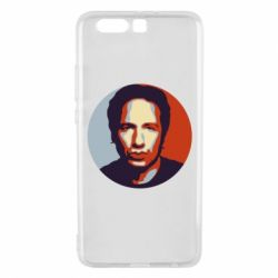 Чехол для Huawei P10 Plus Hank Moody Art - FatLine