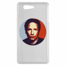 Чехол для Sony Xperia Z3 mini Hank Moody Art - FatLine