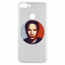 Чехол для Huawei P Smart Hank Moody Art - FatLine