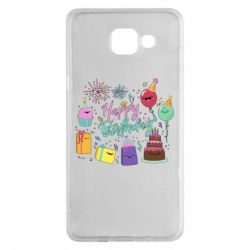 Чохол для Samsung A5 2016 Happy Birthday
