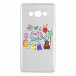 Чохол для Samsung A7 2015 Happy Birthday