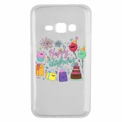 Чохол для Samsung J1 2016 Happy Birthday