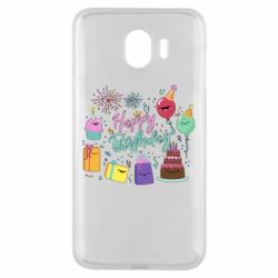 Чохол для Samsung J4 Happy Birthday