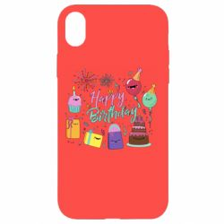 Чохол для iPhone XR Happy Birthday