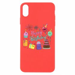 Чохол для iPhone Xs Max Happy Birthday