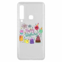 Чохол для Samsung A9 2018 Happy Birthday