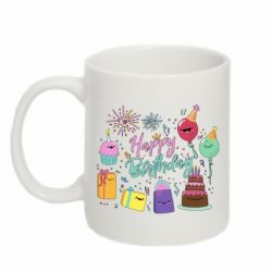Кружка 320ml Happy Birthday