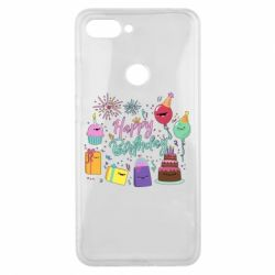 Чохол для Xiaomi Mi8 Lite Happy Birthday