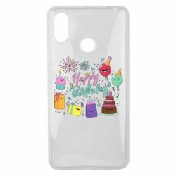 Чохол для Xiaomi Mi Max 3 Happy Birthday