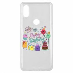 Чохол для Xiaomi Mi Mix 3 Happy Birthday