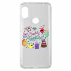 Чохол для Xiaomi Redmi Note Pro 6 Happy Birthday