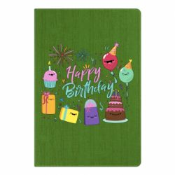 Блокнот А5 Happy Birthday