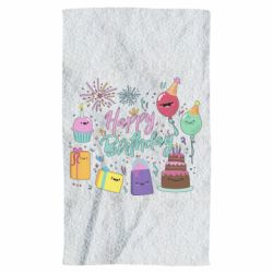 Рушник Happy Birthday