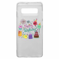 Чохол для Samsung S10+ Happy Birthday