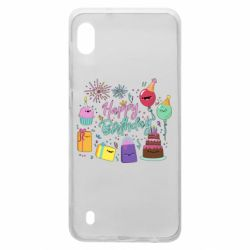 Чохол для Samsung A10 Happy Birthday
