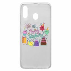 Чохол для Samsung A20 Happy Birthday