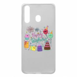 Чохол для Samsung A60 Happy Birthday