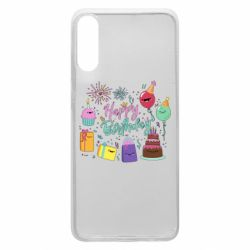 Чохол для Samsung A70 Happy Birthday